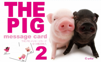 THE PIG message card 2