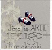 """Time is ART III"" indigo+"