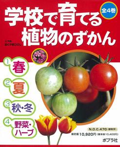 学校で育てる植物のずかん(全4巻)