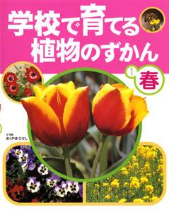 学校で育てる植物のずかん 春