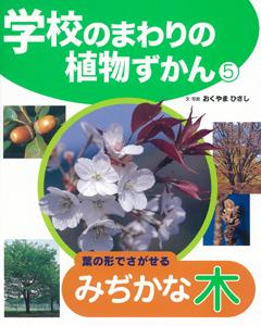 学校のまわりの植物ずかん(5) 葉の形でさがせるみぢかな木