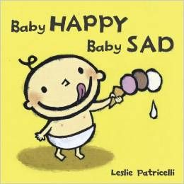 Baby Happy Baby Sad(ボードブック)