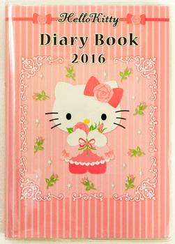 Hello Kitty Dairy Book  2016