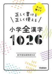 正しく書ける正しく使える小学全漢字