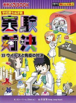 実験対決(33) ウイルスと免疫の対決