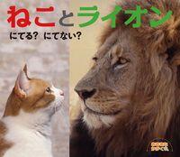 ねことライオン にてる?にてない?
