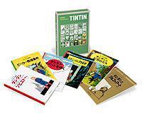 ペーパーバック版 タンタンの冒険(4) 6冊セット