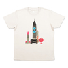 (S)五味太郎 Tシャツ きんぎょ ロケット