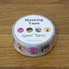 五味太郎 マスキングテープ15W かお