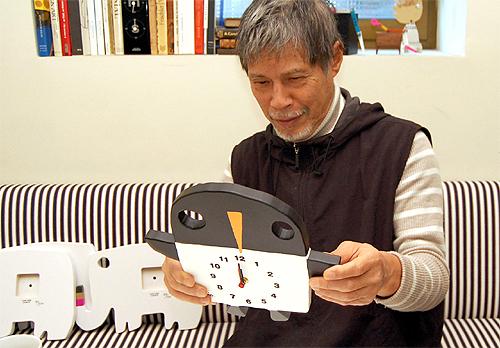 五味太郎 オリジナル時計  「ペンギン」商品画像