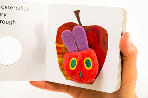 Very Hungry Caterpilar puppet Miniの商品画像3