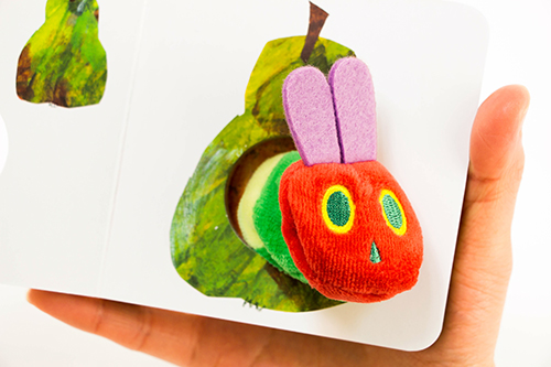 Very Hungry Caterpilar puppet Miniの商品画像4